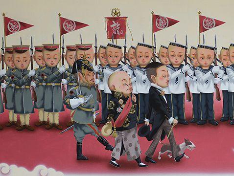 《红毯阅兵》