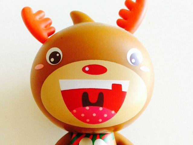淘公仔设计师收藏版-圣诞驯鹿