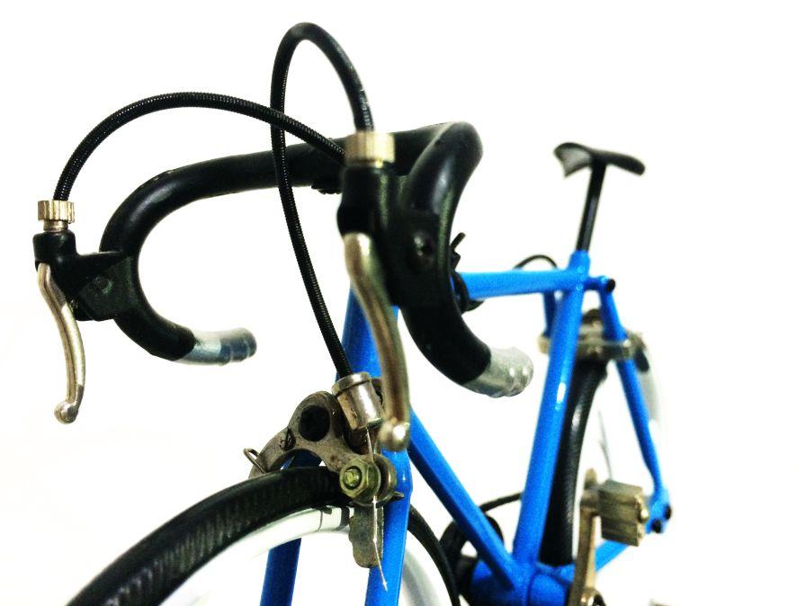 可组装全金属公路自行车摆件