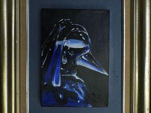 《戴珍珠耳环的少女——透视版》